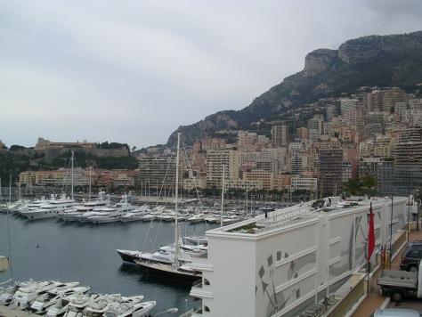 Vista xeral de Mónaco