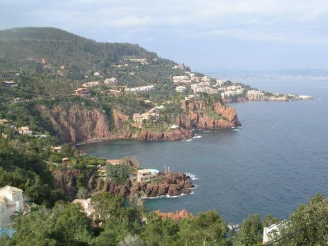 Costa Azul entre St Tropez e Cannes