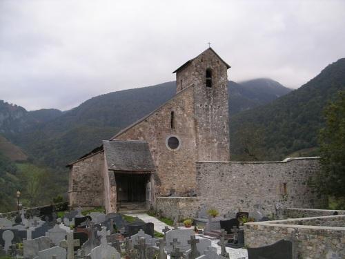 Igrexa do século XI en Ste Engrace