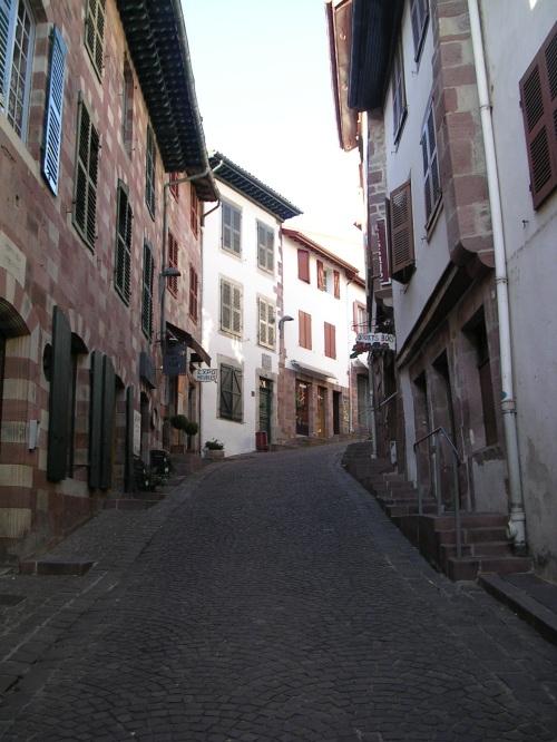 Rúa en St Jean Pied de Port