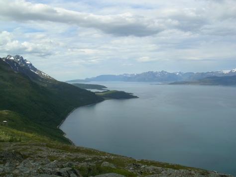 Fiordo Kvænangen (Noruega)