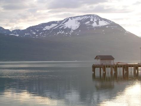 Porto de Skibotn (Noruega)