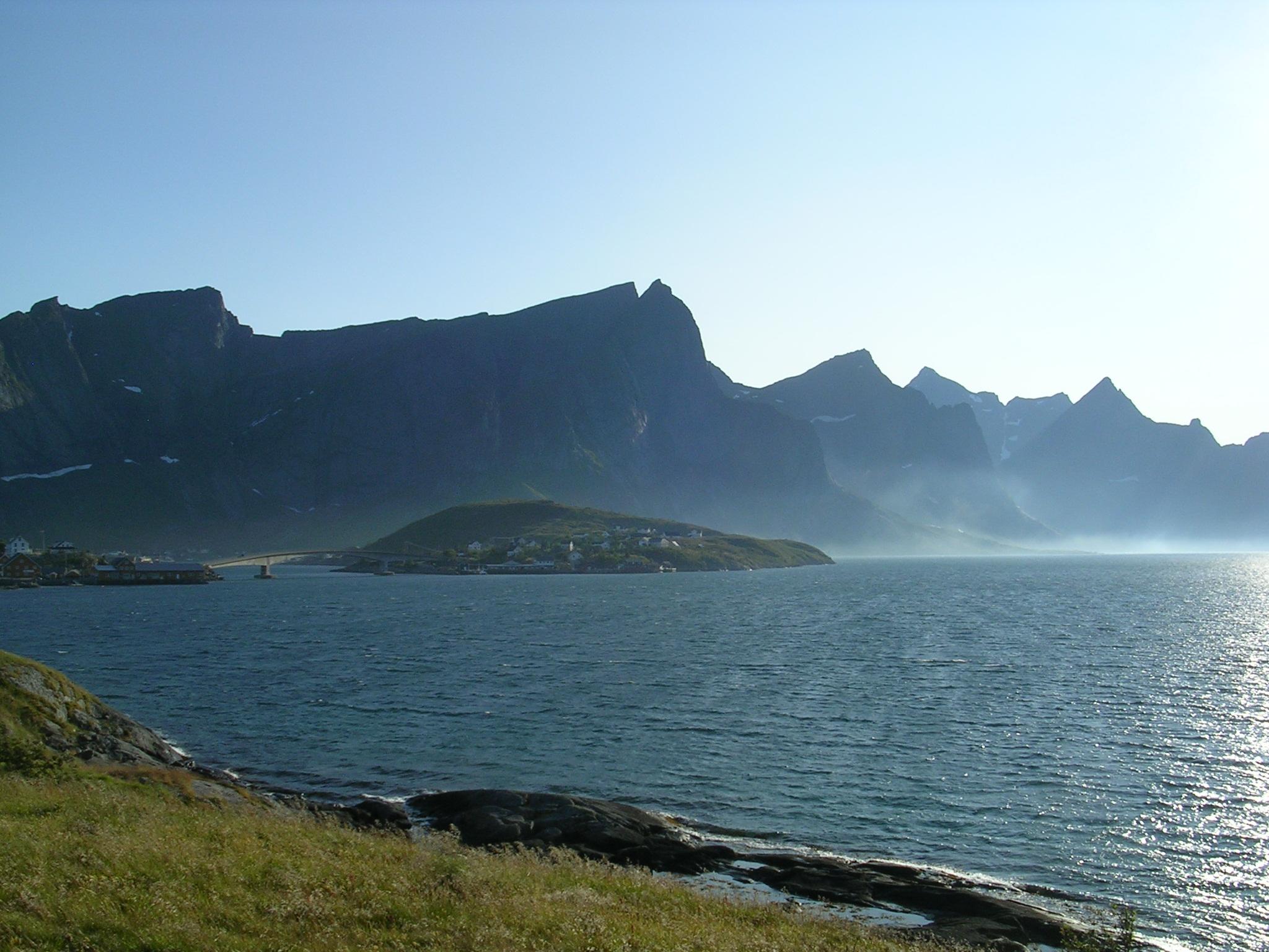 Illa de Moskenesøya (Lofoten, Noruega)