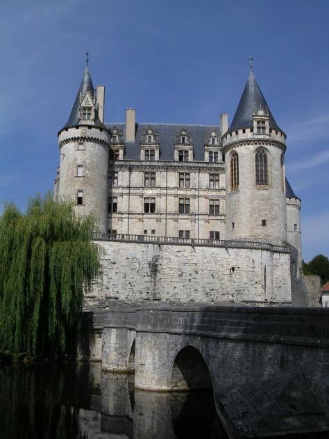 Castelo de La Rochefoucauld (Francia)
