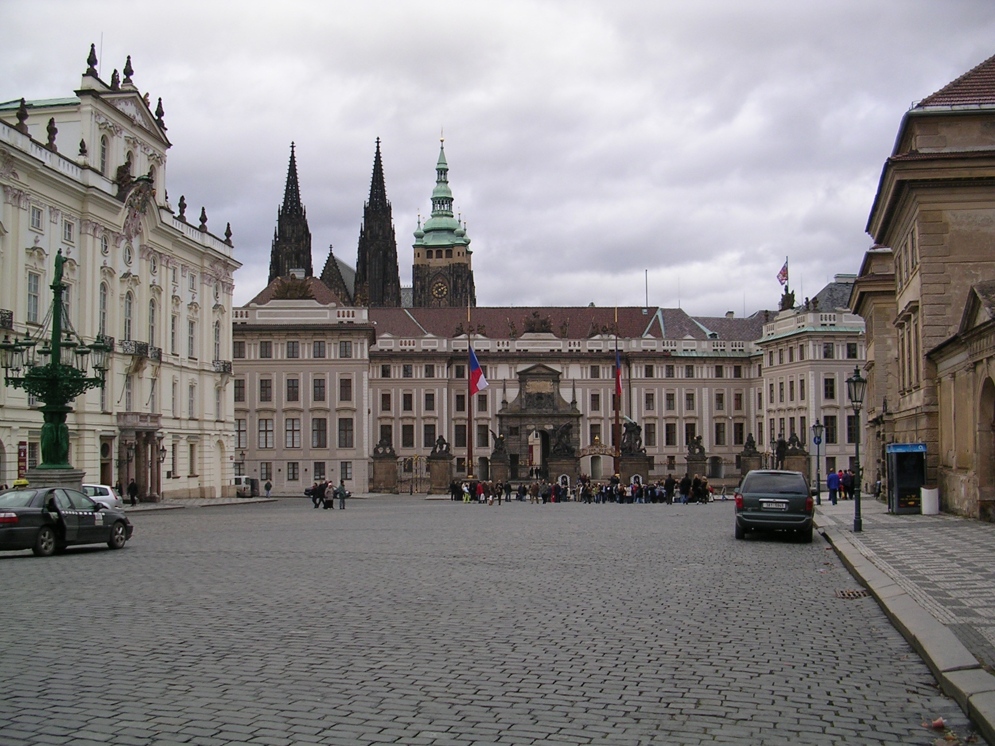 Entrada ó Castelo de Praga