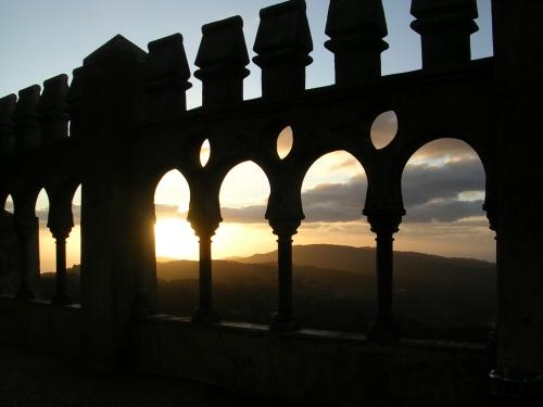 Vista dende o Palacio de Pena. Sintra
