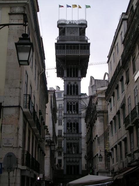 Elevador de Santa Xusta. Lisboa