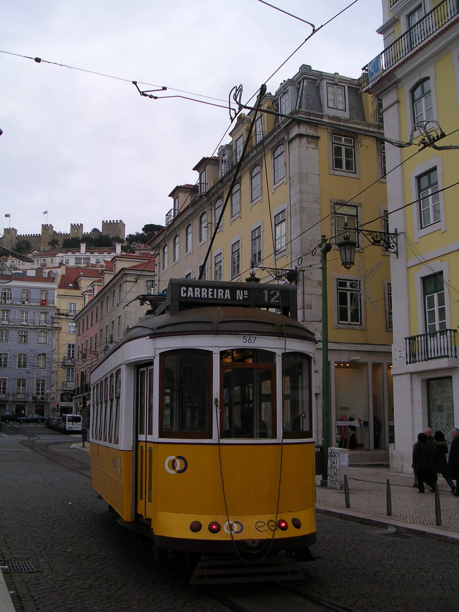 Tranvia en Lisboa