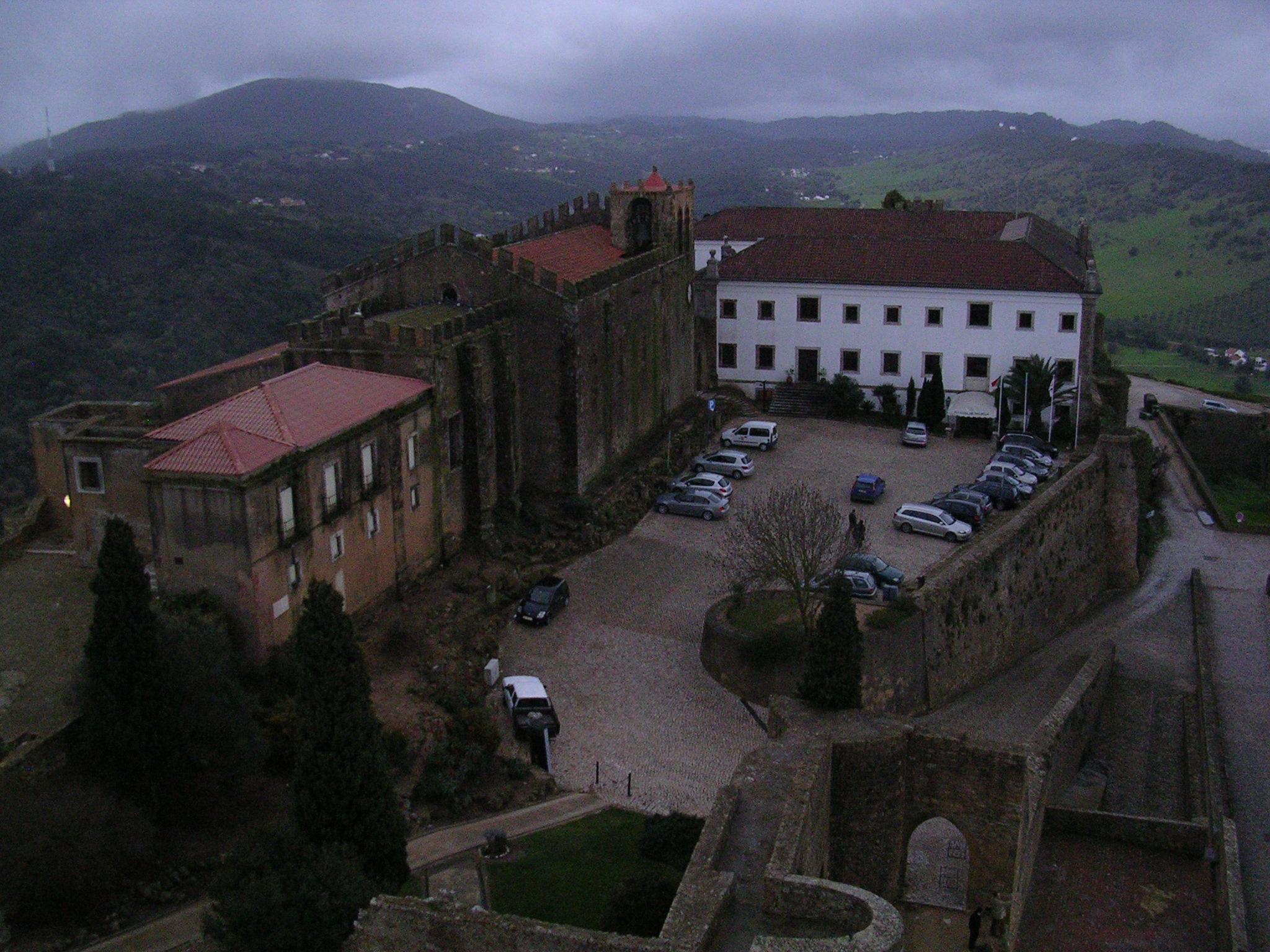 Vistas dende o Castelo e Pousada de Palmela