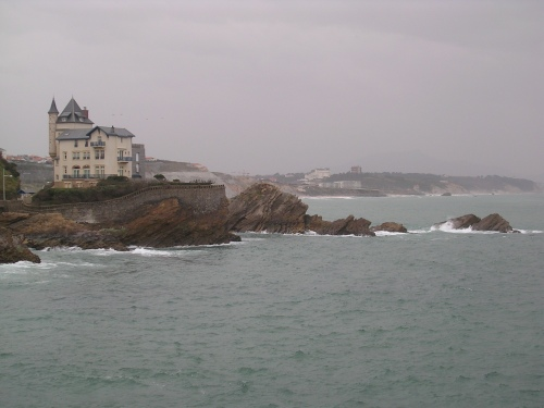 Costa preto de Biarritz