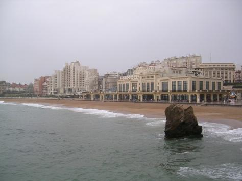 Casino y playa de Biarritz