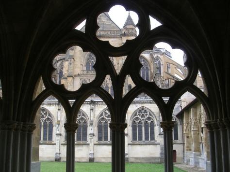 Claustro de la catedral de Baiona