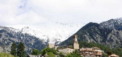 Pico Canigó dende Vernet