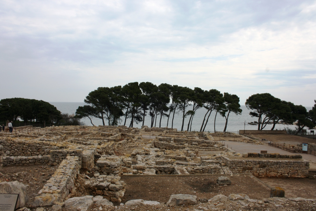 Ciudad griega en Empúries