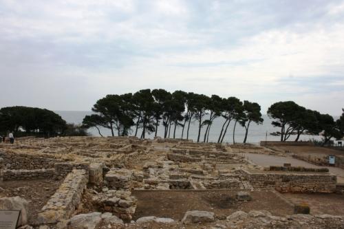 Cidade grega en Empúries