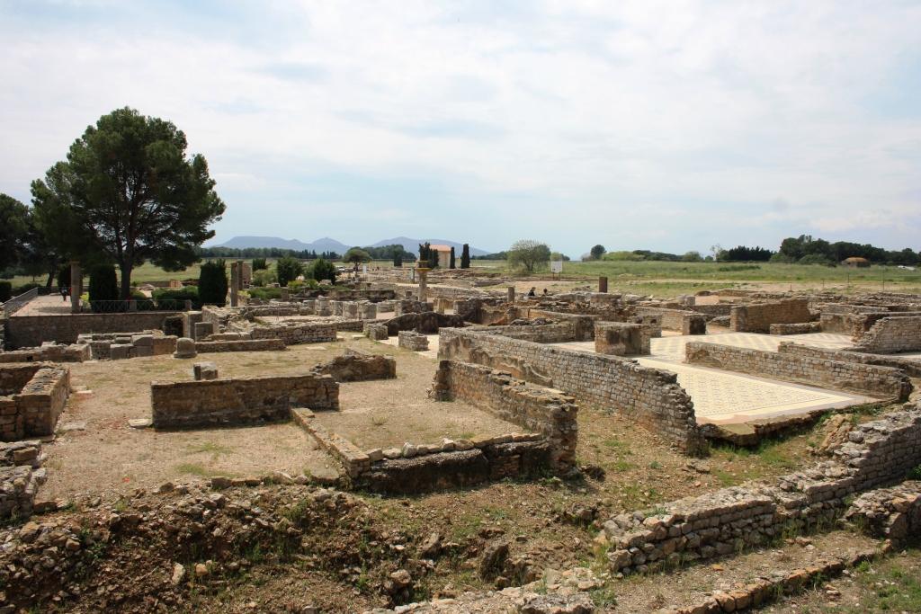 Ciudad romana en Empúries