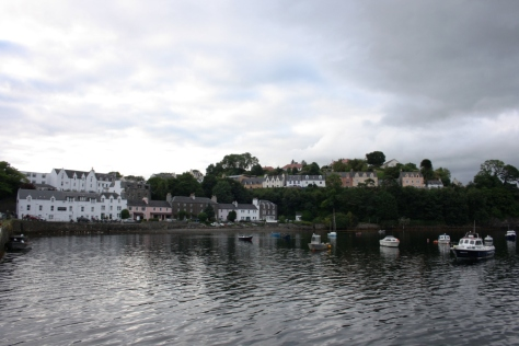 Portree, capital da Illa de skye