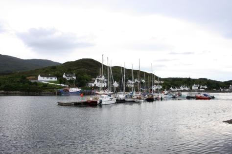 Kyleakin, porta de entrada na Illa de Skye