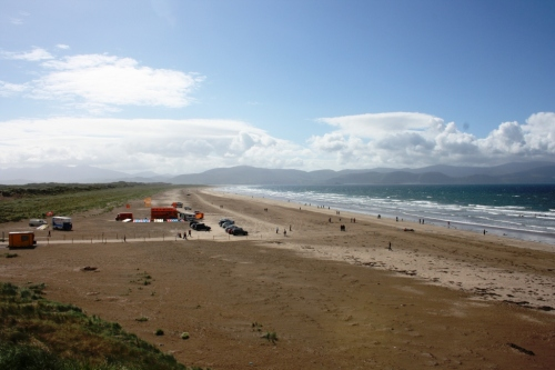 Praia de Inch, na Península de Dingle