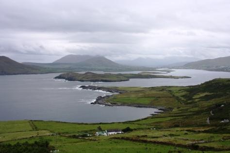 La Isla de Beginish desde la Isla de Valentia, en el condado de Kerry