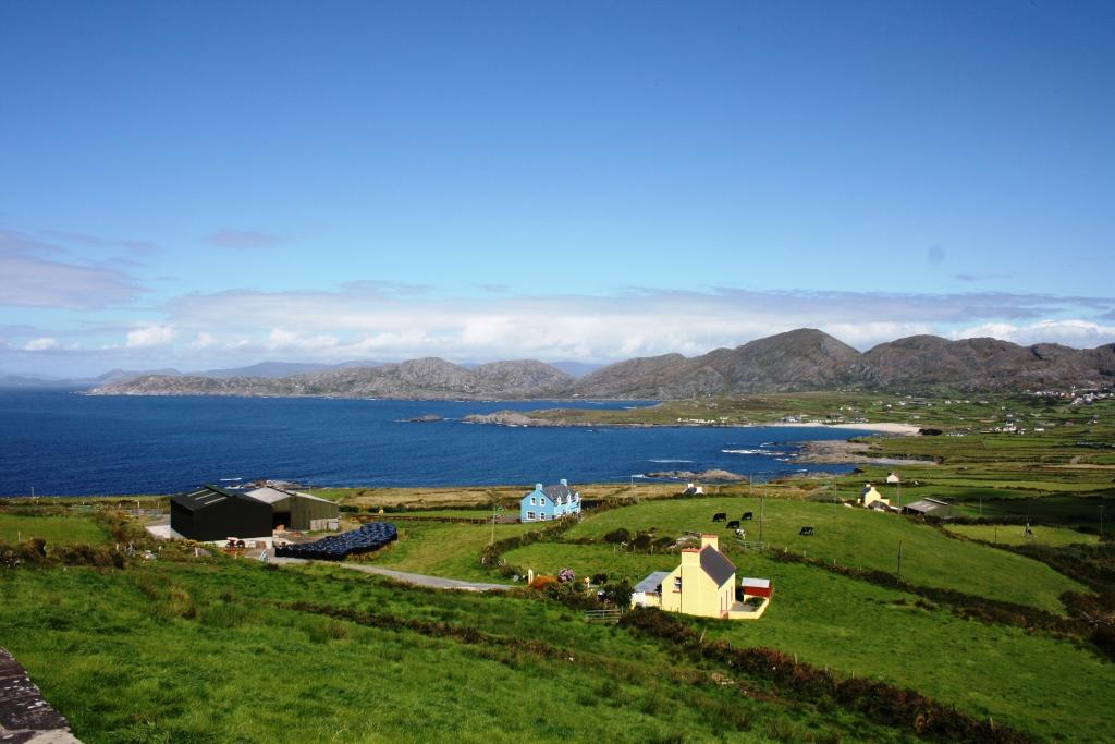 Ballydonegan Bay, no extremo occidental da Península de Beara