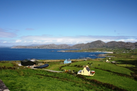 Ballydonegan Bay, en el extremo occidental de la Península de Beara