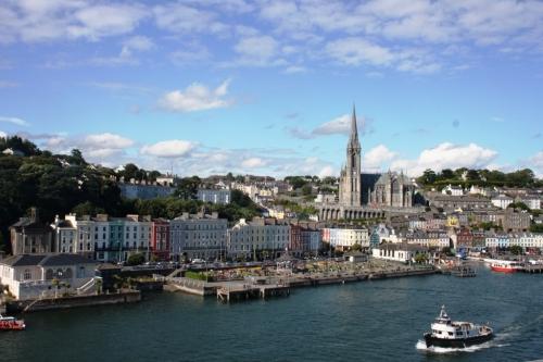 Cobh, dende o ferry Pont Aven