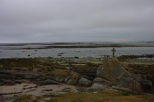 Plounéour-Trez, en la costa bretona