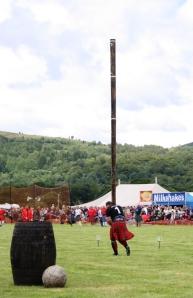 Highland Games en Callender