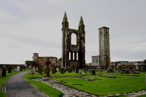 Ruínas da catedral de St Andrews