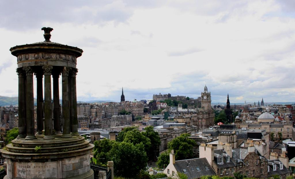 Edimburgo, dende Calton Hill