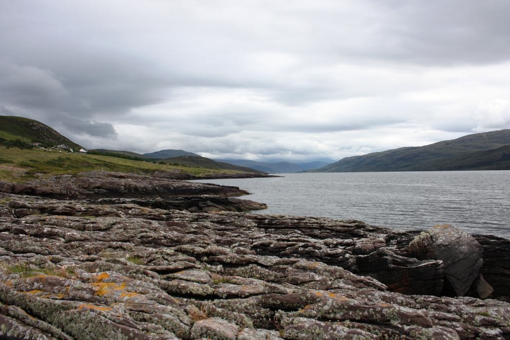 Loch Broom dende o Faro de Rhue, Ullapool