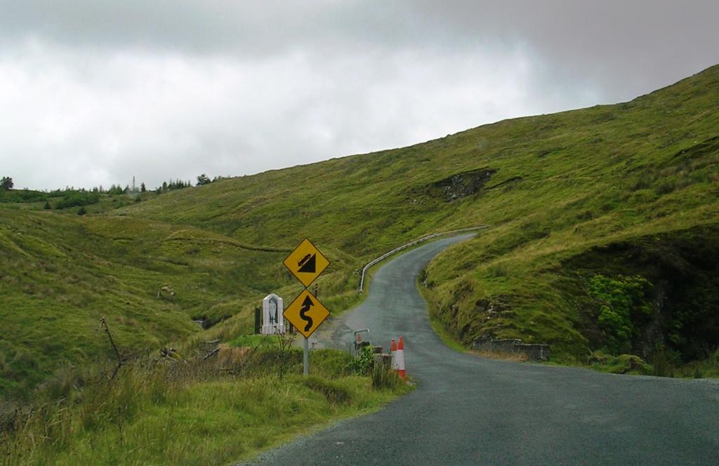 Carretera en Irlanda