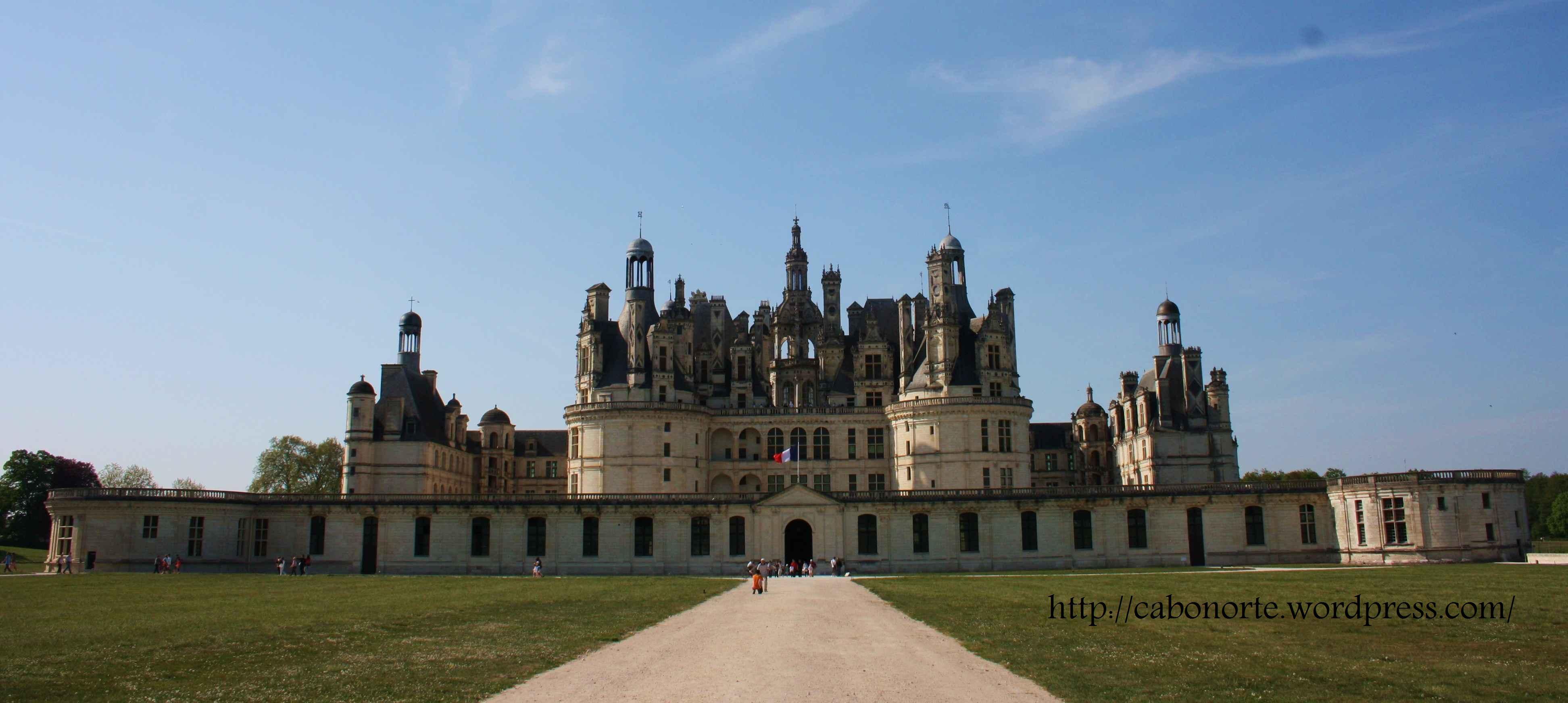 Castelo de Chambord. Abril de 2011