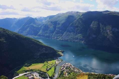 Fiordo dos Soños. Noruega