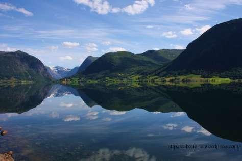 Lago en Noruega