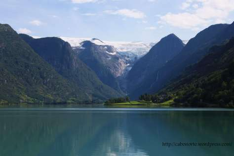 Glaciar de Briksdal. Noruega
