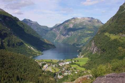 Fiordo de Geiranger. Noruega