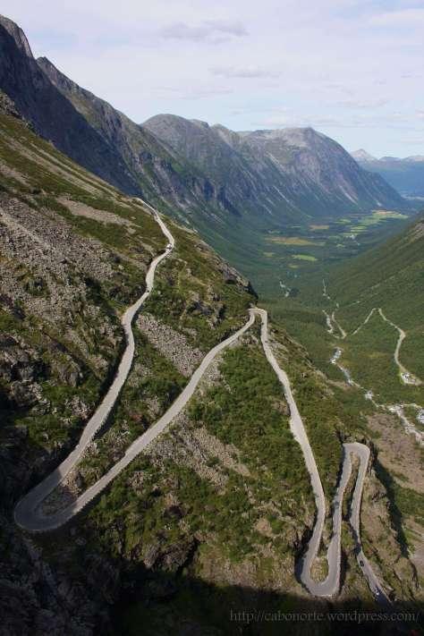 Carretera de los Trolls. Noruega