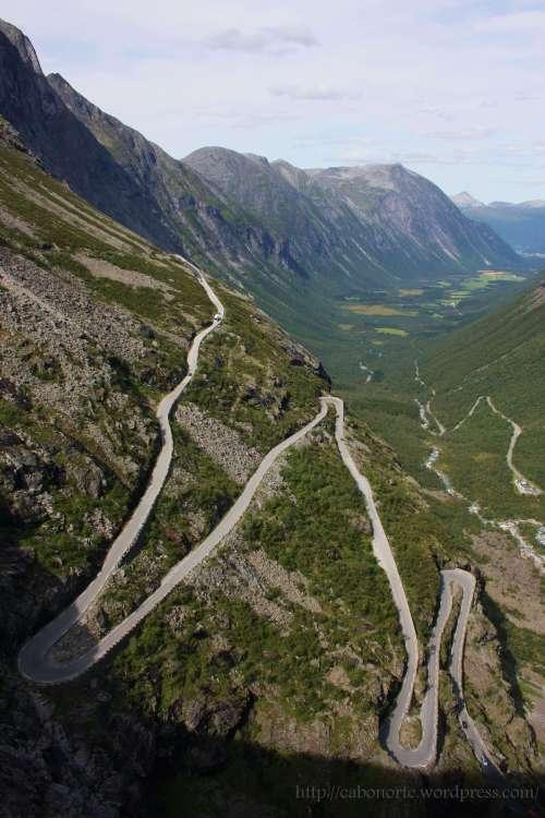 Estrada dos Trolls. Noruega