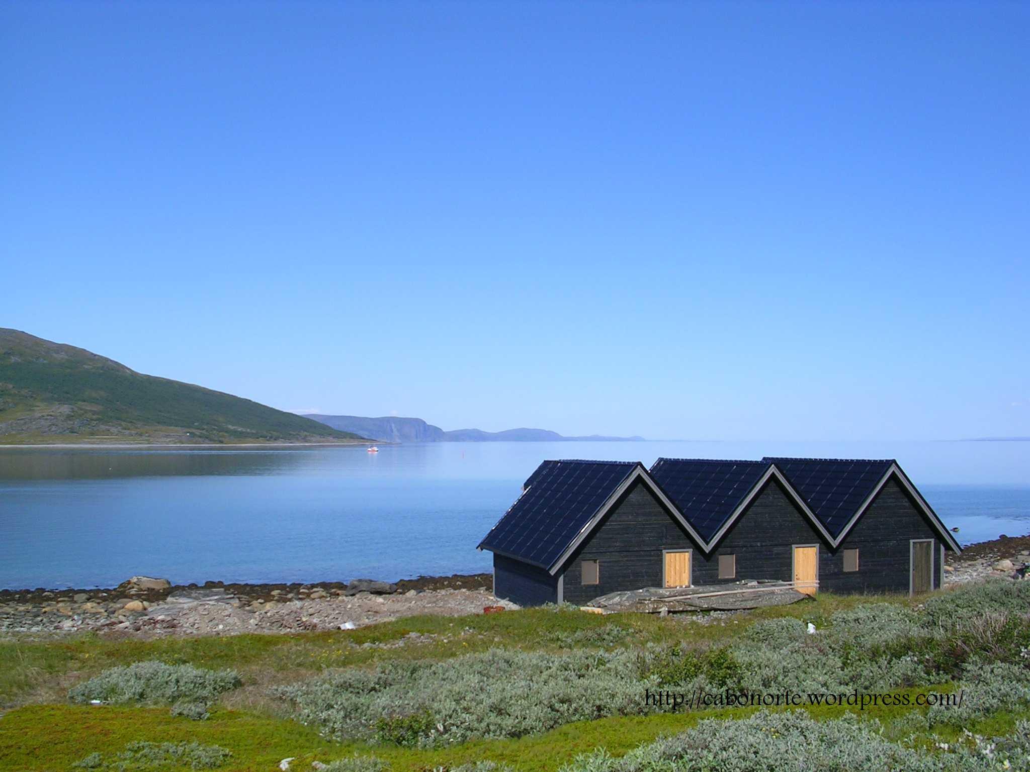 Porsangen Fjord, Norway