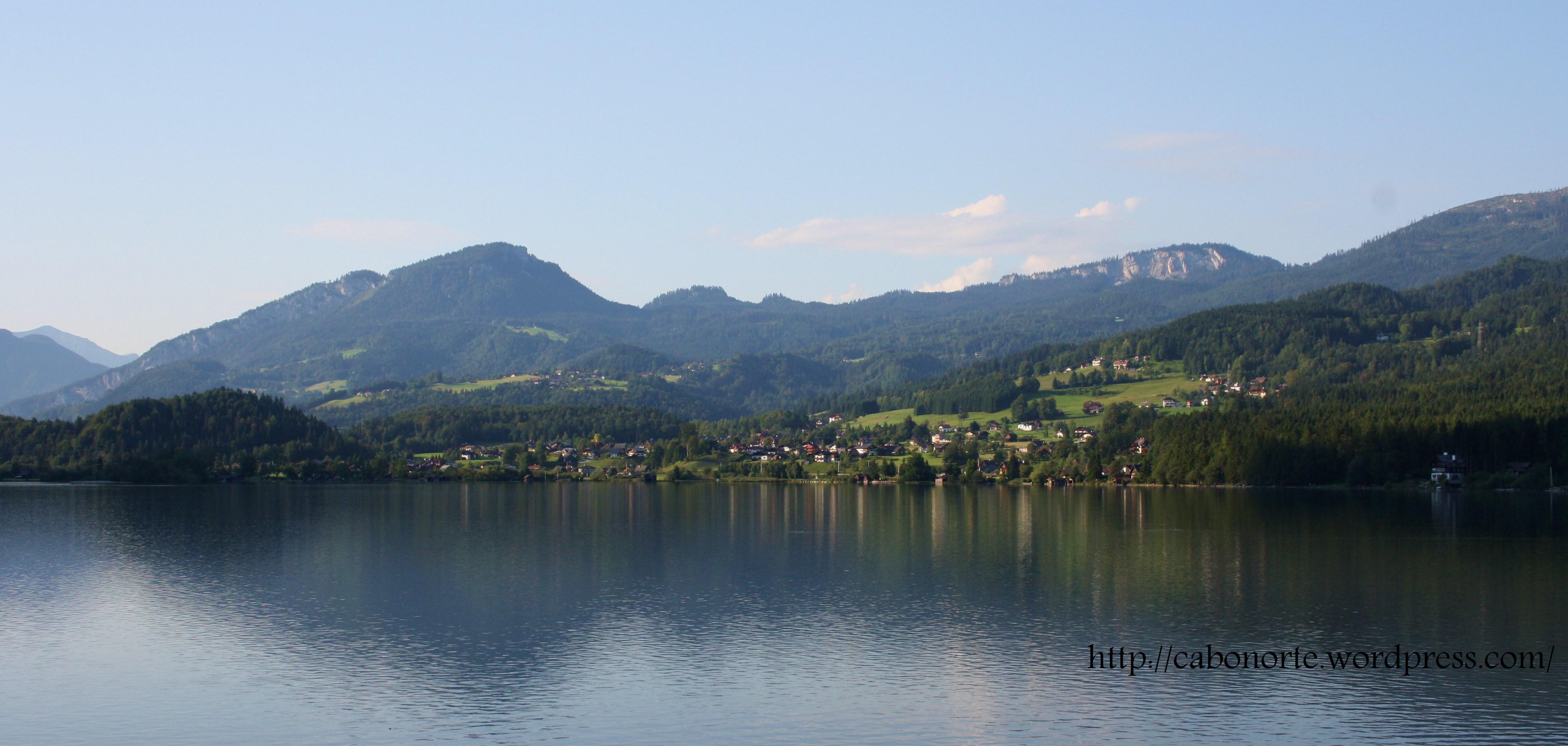 Lago Hallstättersee (Austria)