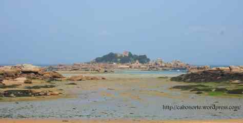 A Costa do Granito Rosa, en Ploumanach