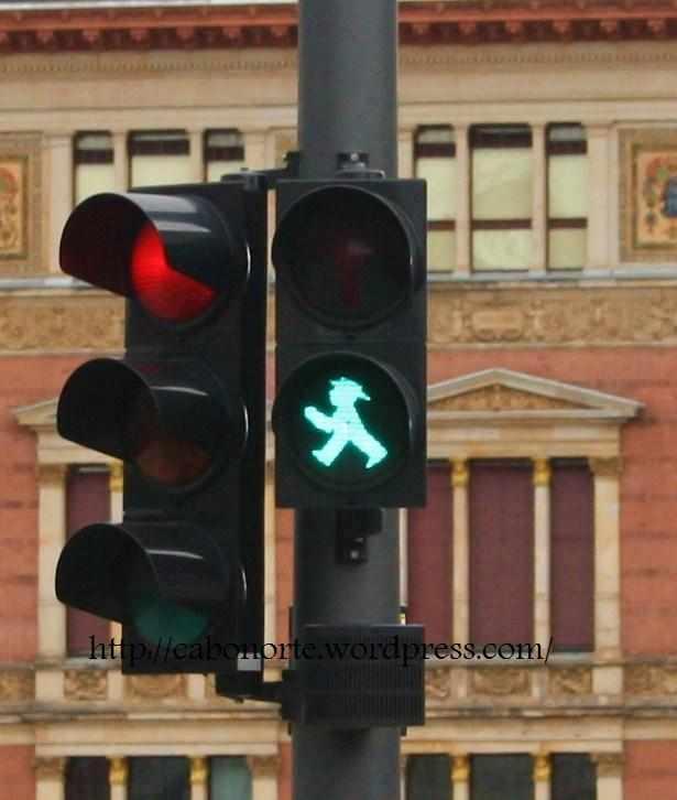 Semaforo DDR. Berlín
