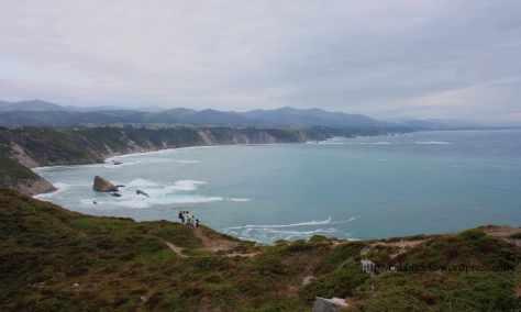 Costa asturiana en Cabo Vidio