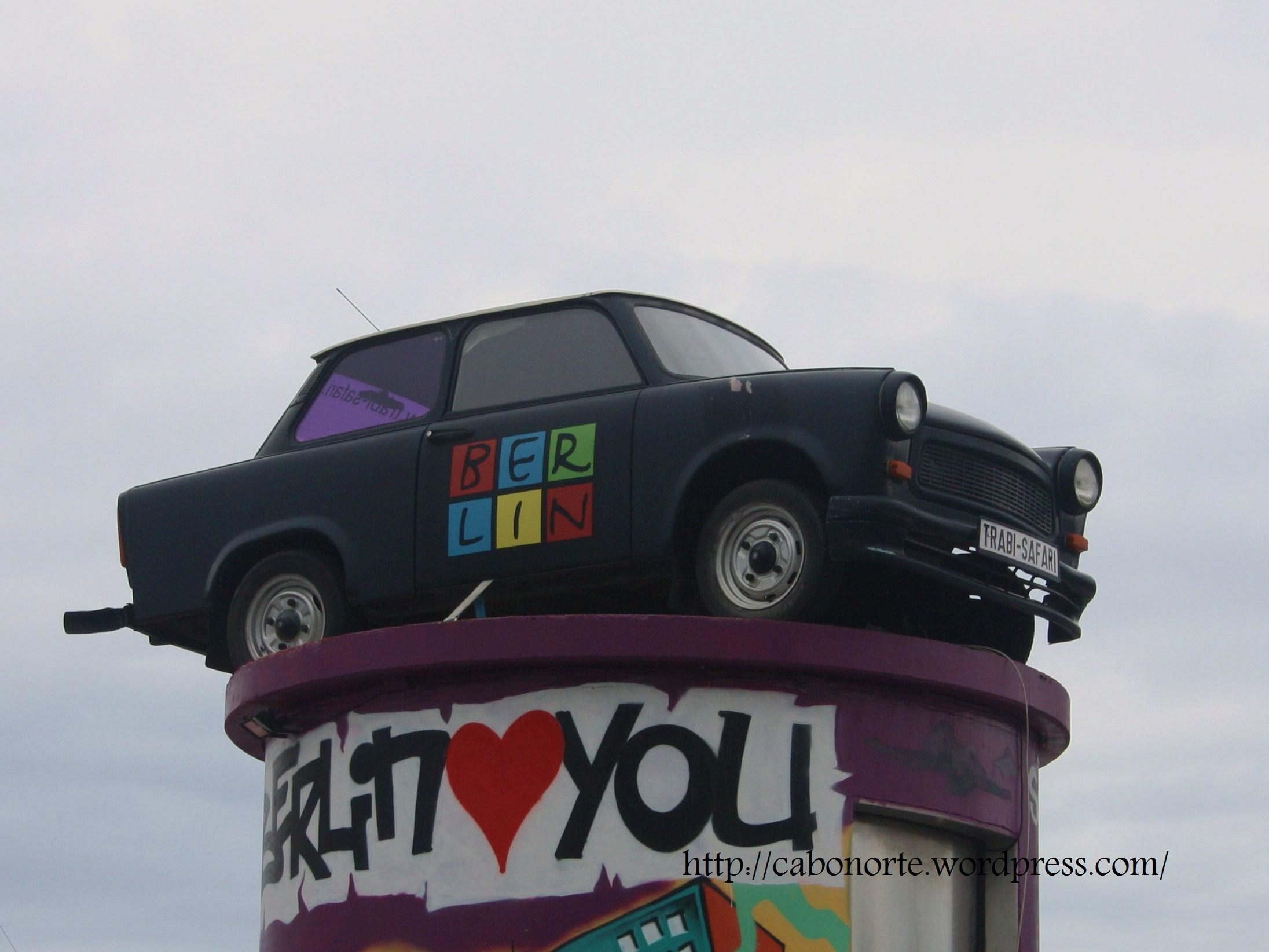 A Trabant in Berlin