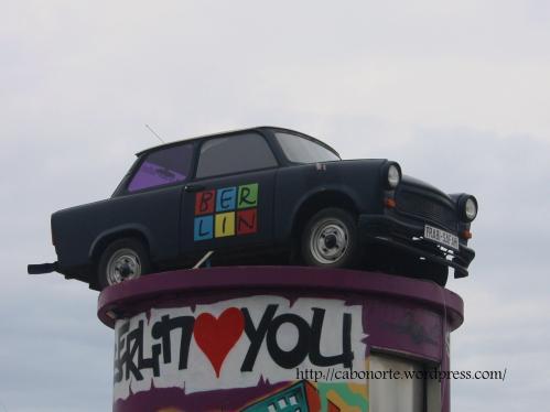 A Trabant in Berlin