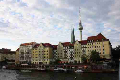 Berlin and the River Spee
