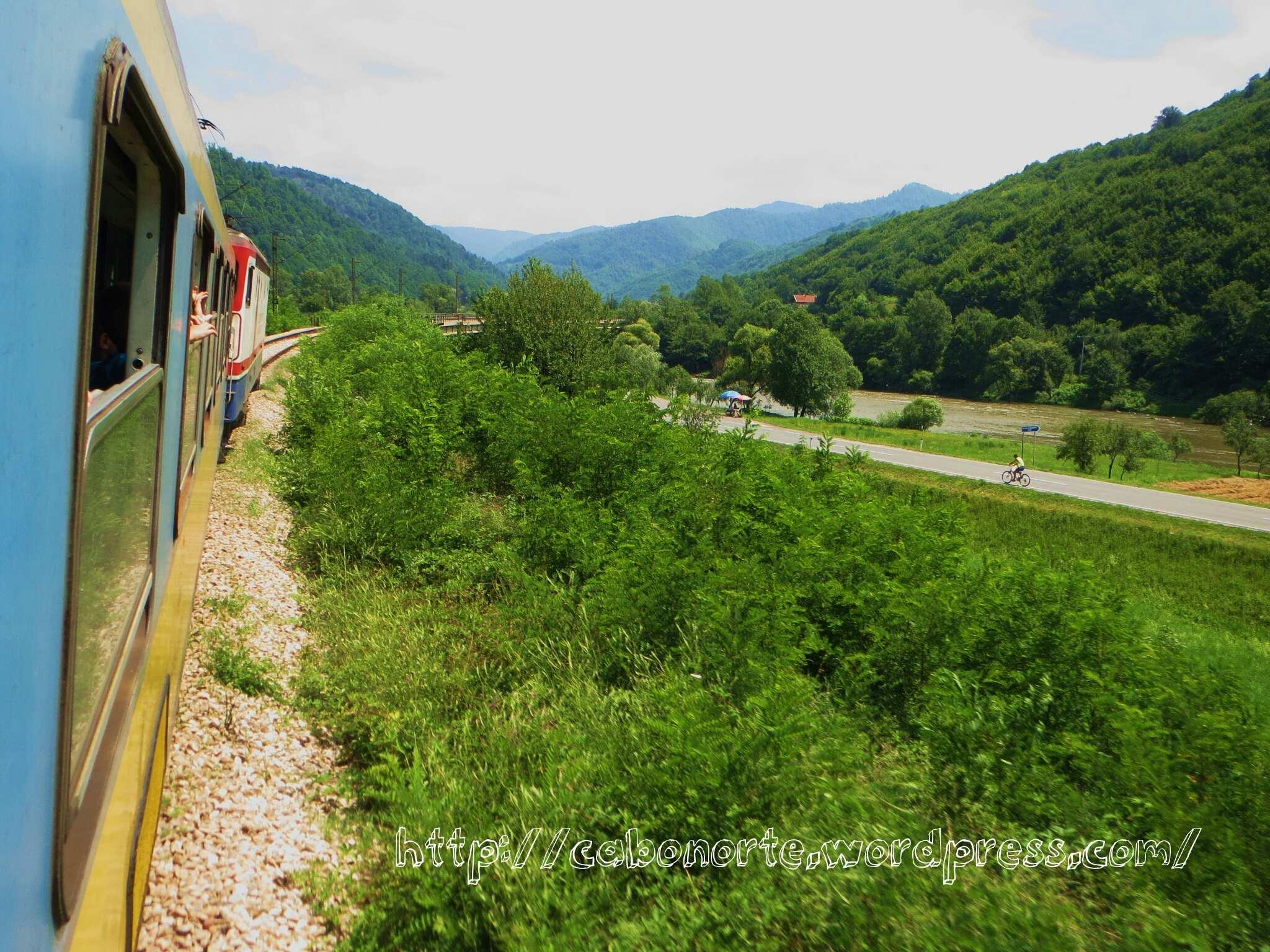 En tren por Bosnia