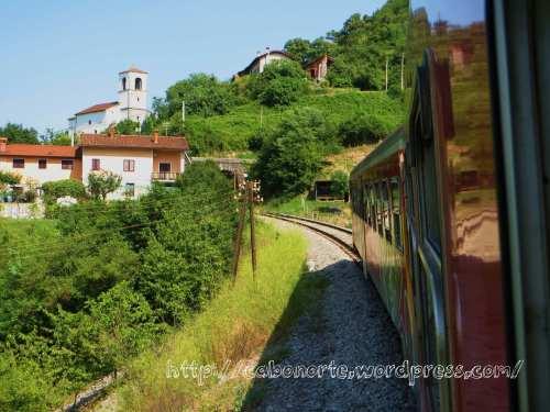 En tren por Eslovenia